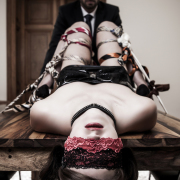 Bondage by Ater Crudus Sensual Contact Ties of Grey
